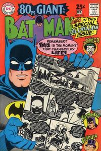 Cover Thumbnail for Batman (DC, 1940 series) #198