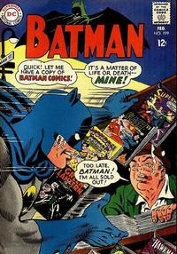 Cover Thumbnail for Batman (DC, 1940 series) #199