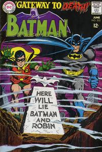 Cover Thumbnail for Batman (DC, 1940 series) #202