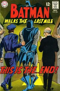 Cover for Batman (DC, 1940 series) #206