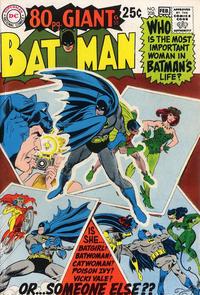 Cover Thumbnail for Batman (DC, 1940 series) #208