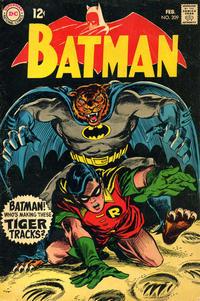 Cover Thumbnail for Batman (DC, 1940 series) #209