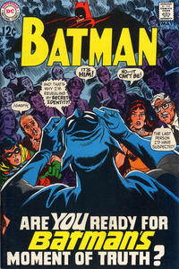 Cover Thumbnail for Batman (DC, 1940 series) #211
