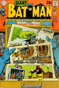 Cover Thumbnail for Batman (DC, 1940 series) #218