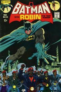 Cover Thumbnail for Batman (DC, 1940 series) #230