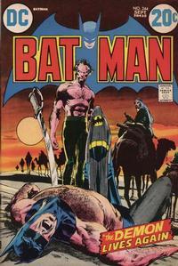 Cover Thumbnail for Batman (DC, 1940 series) #244
