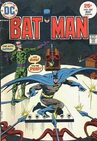 Cover for Batman (DC, 1940 series) #263