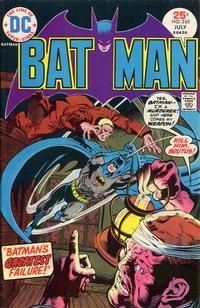 Cover Thumbnail for Batman (DC, 1940 series) #265