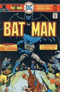 Cover Thumbnail for Batman (DC, 1940 series) #272