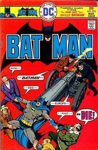 Cover Thumbnail for Batman (DC, 1940 series) #273