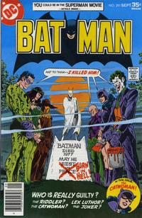 Cover Thumbnail for Batman (DC, 1940 series) #291