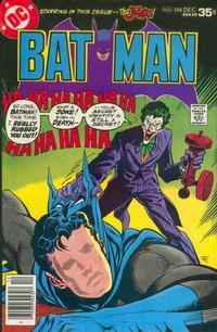 Cover Thumbnail for Batman (DC, 1940 series) #294
