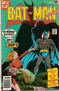 Cover for Batman (DC, 1940 series) #301 [Regular Edition]