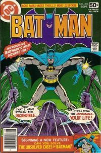 Cover Thumbnail for Batman (DC, 1940 series) #303