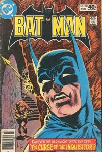 Cover Thumbnail for Batman (DC, 1940 series) #320