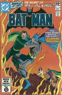 Cover for Batman (DC, 1940 series) #335 [Direct Sales]