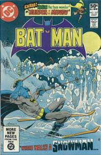 Cover Thumbnail for Batman (DC, 1940 series) #337 [Direct Edition]