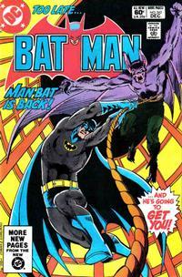 Cover Thumbnail for Batman (DC, 1940 series) #342 [Direct Sales]