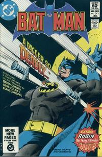Cover Thumbnail for Batman (DC, 1940 series) #343 [Direct Edition]