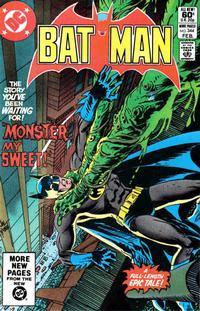 Cover Thumbnail for Batman (DC, 1940 series) #344