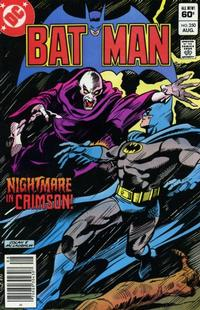 Cover for Batman (DC, 1940 series) #350 [Direct Sales]