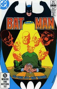 Cover Thumbnail for Batman (DC, 1940 series) #354 [Direct]