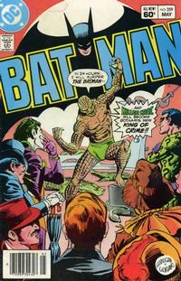 Cover Thumbnail for Batman (DC, 1940 series) #359 [Newsstand]