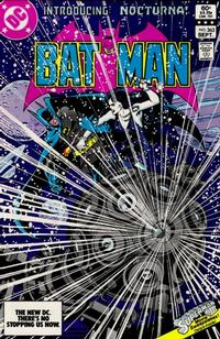 Cover Thumbnail for Batman (DC, 1940 series) #363 [Direct-Sales]