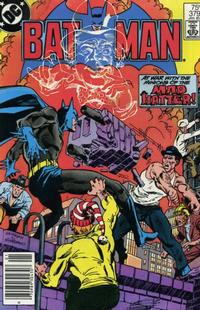 Cover Thumbnail for Batman (DC, 1940 series) #379 [Newsstand]