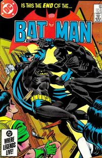 Cover Thumbnail for Batman (DC, 1940 series) #380 [Direct Sales]