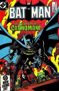 Cover for Batman (DC, 1940 series) #382