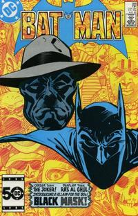 Cover Thumbnail for Batman (DC, 1940 series) #386 [Direct]