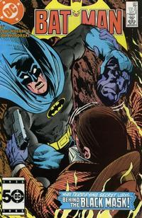 Cover Thumbnail for Batman (DC, 1940 series) #387 [Direct Sales]
