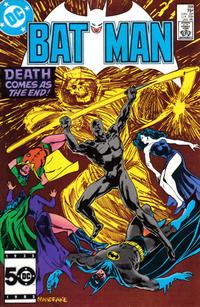 Cover Thumbnail for Batman (DC, 1940 series) #391 [Direct Sales]