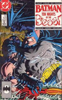 Cover Thumbnail for Batman (DC, 1940 series) #420 [Direct Edition]