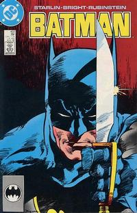 Cover Thumbnail for Batman (DC, 1940 series) #422 [Direct]