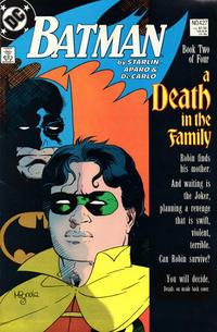Cover Thumbnail for Batman (DC, 1940 series) #427 [Direct]