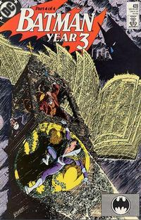 Cover Thumbnail for Batman (DC, 1940 series) #439 [Direct]