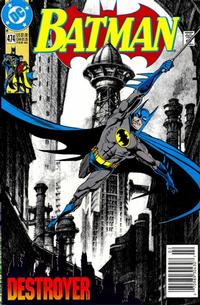 Cover Thumbnail for Batman (DC, 1940 series) #474 [Newsstand]