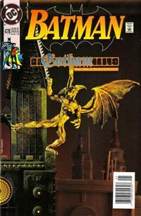 Cover Thumbnail for Batman (DC, 1940 series) #478 [Newsstand]