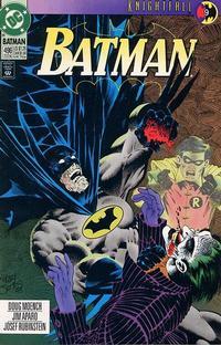 Cover Thumbnail for Batman (DC, 1940 series) #496 [Direct]