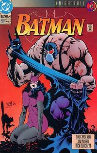Cover Thumbnail for Batman (DC, 1940 series) #498 [Direct]
