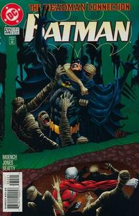 Cover for Batman (DC, 1940 series) #532 [Glow-in-the-Dark Direct Sales Edition]