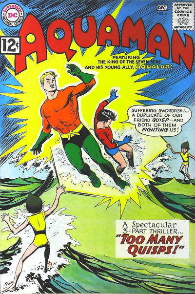 Cover for Aquaman (DC, 1962 series) #6