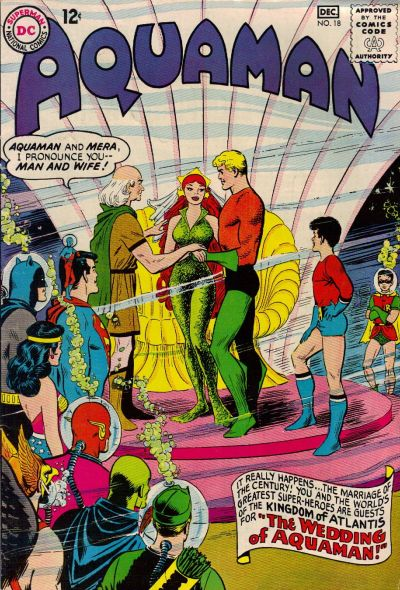 Cover for Aquaman (DC, 1962 series) #18