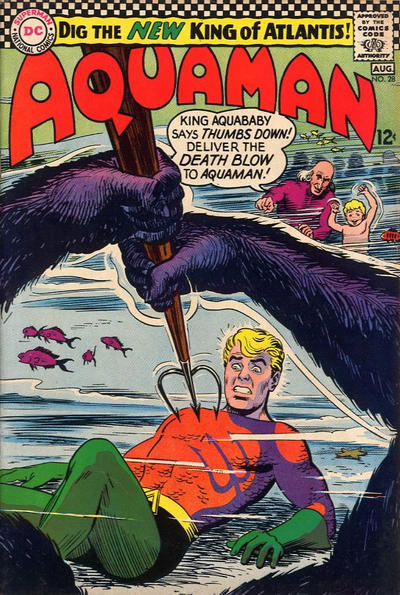 Cover for Aquaman (DC, 1962 series) #28