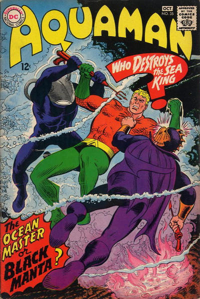 Cover for Aquaman (DC, 1962 series) #35