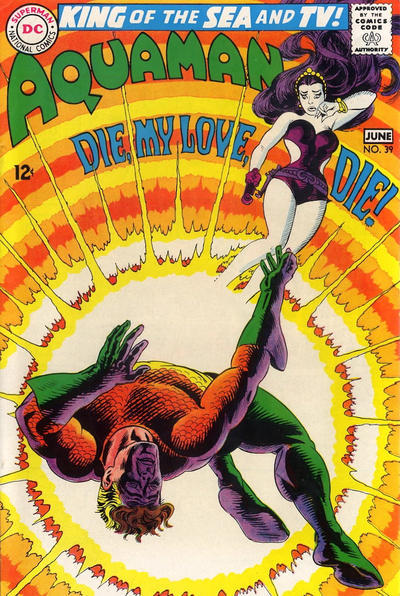 Cover for Aquaman (DC, 1962 series) #39