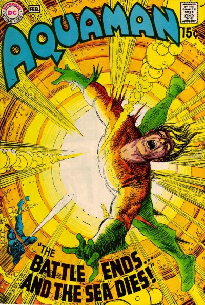 Cover for Aquaman (DC, 1962 series) #49