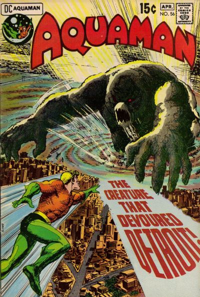 Cover for Aquaman (DC, 1962 series) #56
